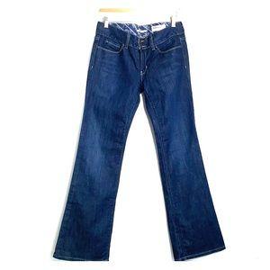 GAP • Boot Cut Dark Wash Mid-Rise Jeans